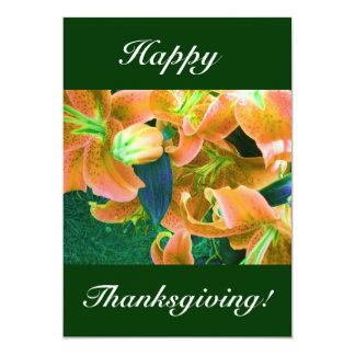 Bon thanksgiving I Carton D'invitation 12,7 Cm X 17,78 Cm