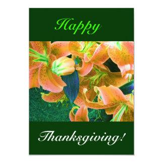 Bon thanksgiving I Invitations Personnalisées