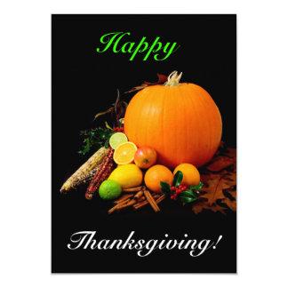 Bon thanksgiving invitations personnalisées