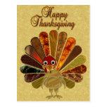 Bon thanksgiving Turquie - carte postale