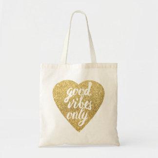 bon vibraphone de coeur d'or seulement sac en toile