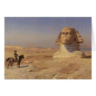 Bonaparte avant le sphinx cartes
