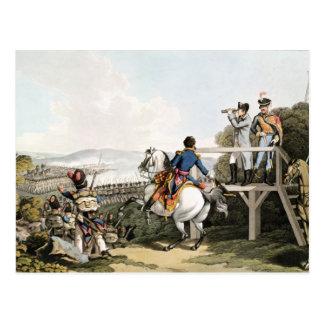 Bonaparte juste avant son vol carte postale