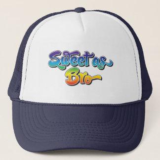 Bonbon comme casquette de Bro