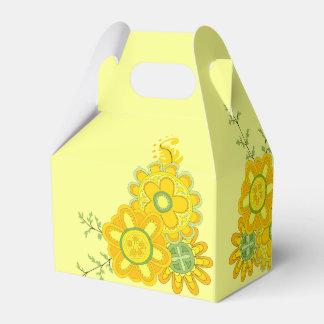 Bonbon et fleurs assez jaunes ballotins