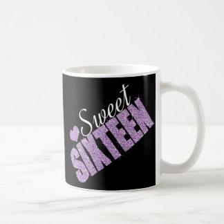 Bonbon pourpre 16 à étincelle mug
