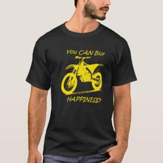 Bonheur d'achat - jaune sur le noir (Suzuki) T-shirt
