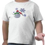 Bonhomme de neige t-shirts