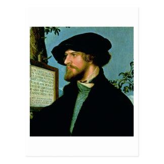 Bonifacius Amerbach, 1519 (huile sur le bois du Carte Postale