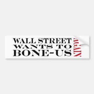 Bonification de Wall Street Autocollants Pour Voiture