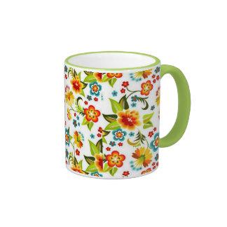 bonito floral de padrão tasse