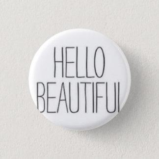 Bonjour beau badge