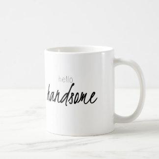 Bonjour beau mug