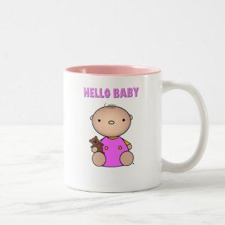 Bonjour bébé tasse à café