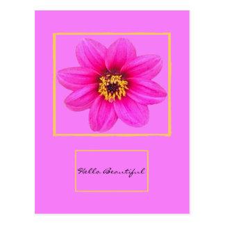 Bonjour belle carte postale