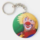 Bonjour clown porte-clefs