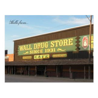 Bonjour de… Drogue de mur Cartes Postales