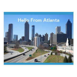 Bonjour de la carte postale   d'Atlanta