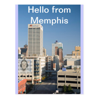 Bonjour de Memphis, Tenn. Carte postale