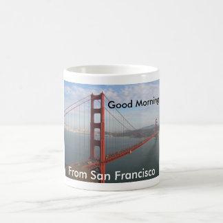 Bonjour de San Francisco Mug Blanc