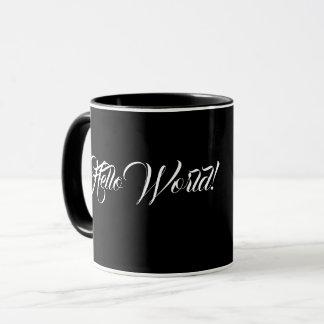 """""""Bonjour le noir du monde"""" a dénommé la tasse"""