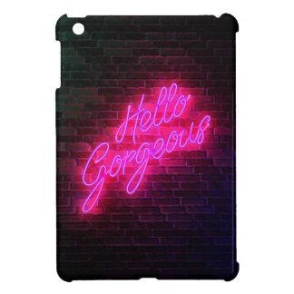 Bonjour magnifique - enseigne au néon étuis iPad mini