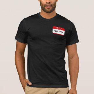 Bonjour mon nom est T-shirt