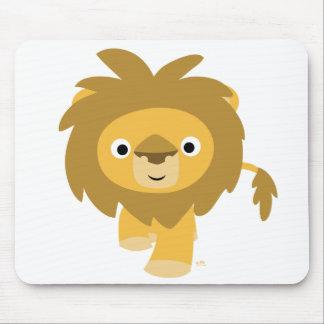 Bonjour ! ! Mousepad de lion de bande dessinée Tapis De Souris