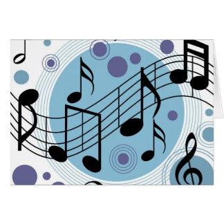 bonjour musique cartes de vœux