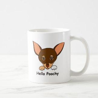 Bonjour Poochy Tasse À Café