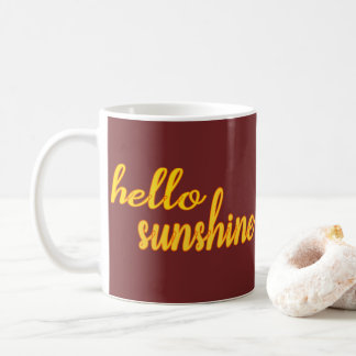 Bonjour soleil - TASSE personnalisable