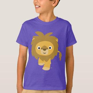 Bonjour ! ! T-shirt mignon d'enfants de lion de