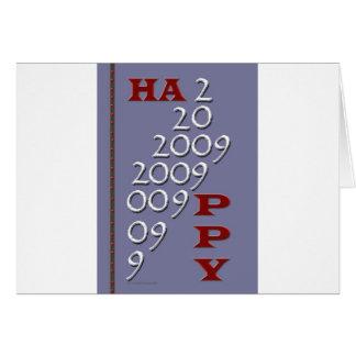 Bonne année 2009 carte de vœux