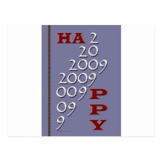 Bonne année 2009 cartes postales