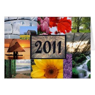 Bonne année 2011 cartes
