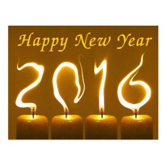 Bonne année 2016 carte postale