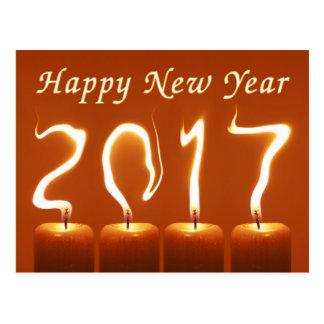 Bonne année 2017 carte postale