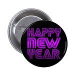 Bonne année badge avec épingle