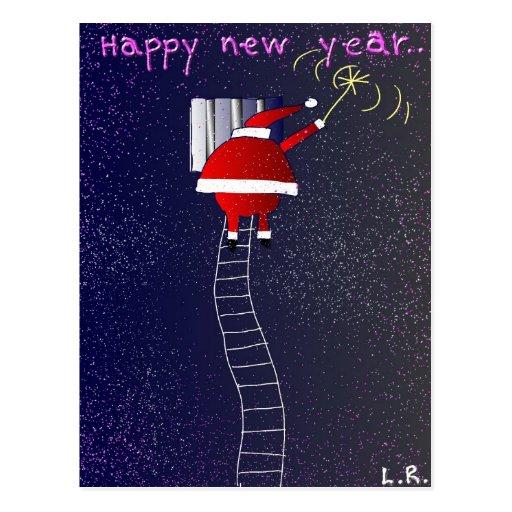 Bonne année cartes postales