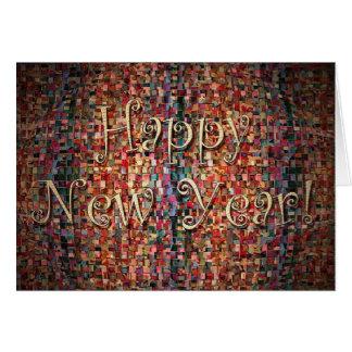 Bonne année cartes