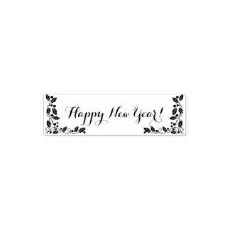 Bonne année tampon auto-encreur