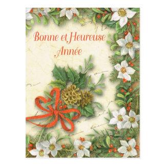 Bonne chez Heureuse Annee Carte Postale