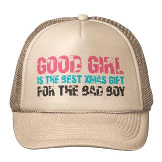 Bonne fille pour le mauvais garçon casquette de camionneur