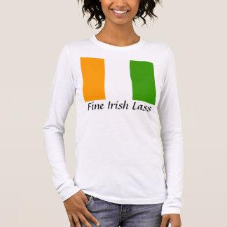 Bonne jeune fille irlandaise t-shirt à manches longues
