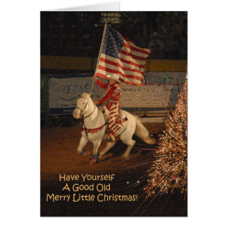 Bonne joyeuse petite carte de Noël