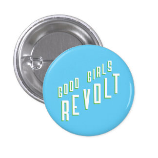 Bonne révolte de filles badge