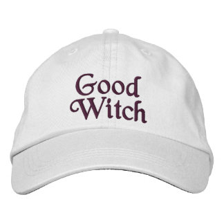 Bonne sorcière casquette brodée