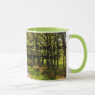 Bonne tasse de café de citation de voyageur (le