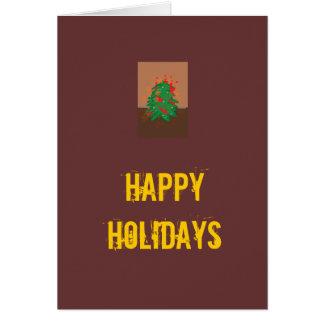 Bonnes fêtes carte