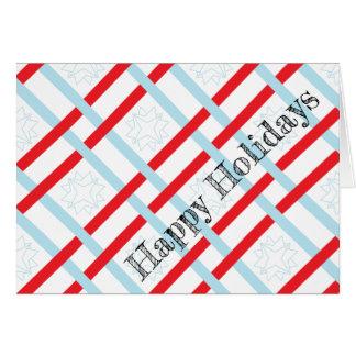 Bonnes fêtes cartes de voeux enveloppées par